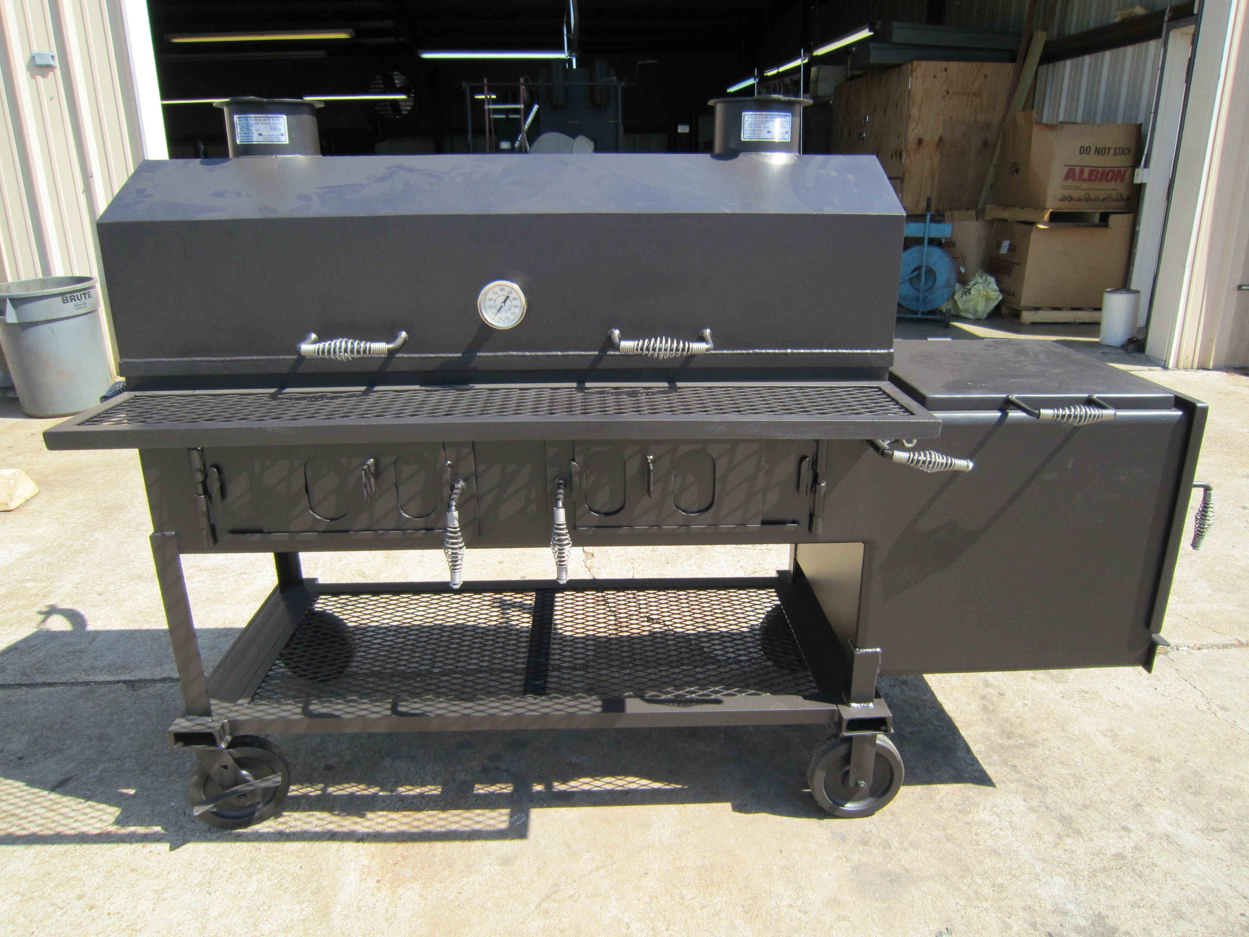 mobile bbq smokers custom pits commercial grills denver los