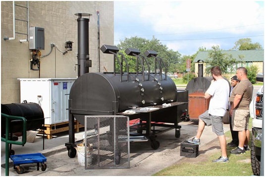 Commercial Outdoor Smoker