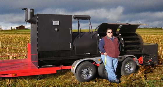 Klose Mobile Barbecue Trailer