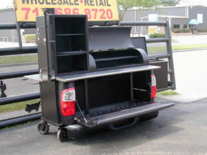 Texas Tailgate bbq, pick up truck bbq, Klose BBQ, Texas smokers,