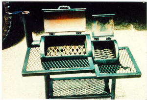 Guinness World record,Texas bbq pit, texas bbq smoker. David Klose smoker, BBQ pit by Klose