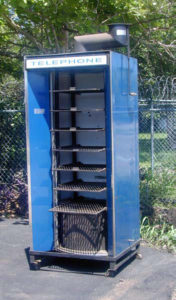 Telephone booth, Klose BBQ smoker for sale,