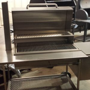 20 x 36 Stainless steel smoker